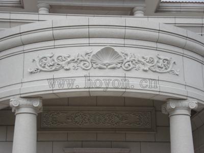 在欧式别墅外墙装修,欧式高楼外墙装修中